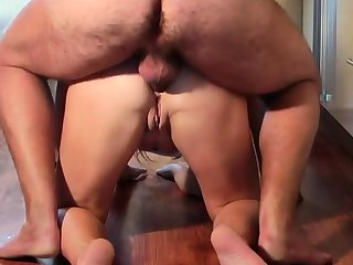 Impoverish fuck Russian mature roughly ass and amazing finish