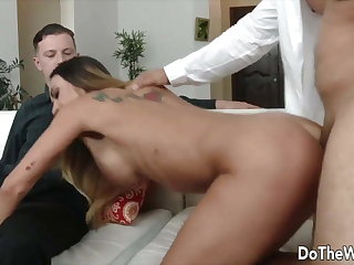 DoTheWife - Stud Taps a Housewife From the Back Compilation
