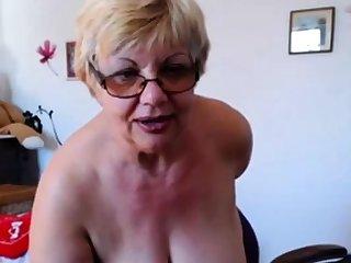 Admirable granny tits