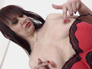 Hardcore interracial anal sex with vulgar mature Vera Delight