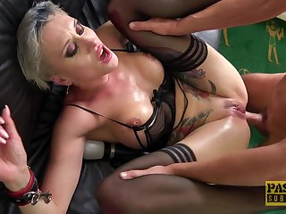Abyss grown-up anal sex in rough scenes of couch XXX