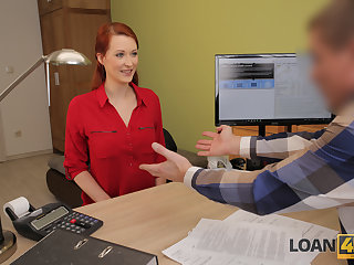 LOAN4K. Tempting redhead wants a vet clinic and knows