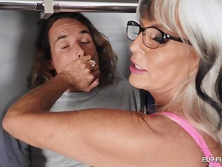 Fucking in the bedroom fro weasel words hungry granny Sally D'angelo