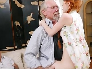 Raunchy Redhead Teen Dolly Little Interesting Out of reach of Old Dink
