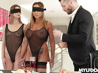 The first butch experience in a triplet is memorable for Ana Rose