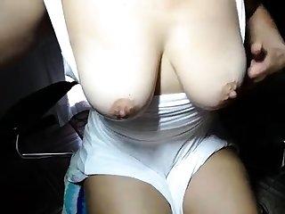 Topless beach bloated nipples