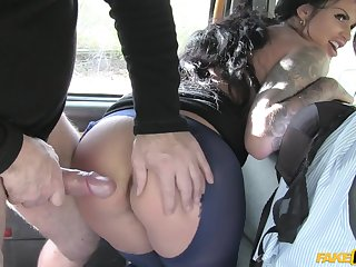 Sweets Sexton makes love with driver in hardcore declare related to
