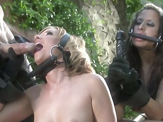 Cowboy amulet BDSM sex with chicks Cassie Courtland with the addition of August Night