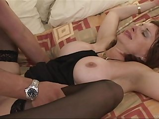 He could sob resist the bait just about fuck this horny cougar